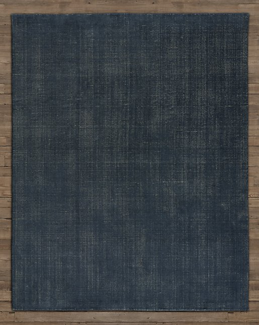 Distressed Wool Rug