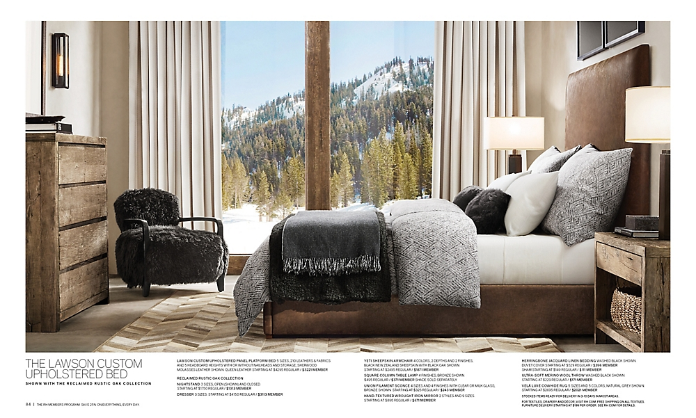 shop Lawson Custom Upholstered Bed