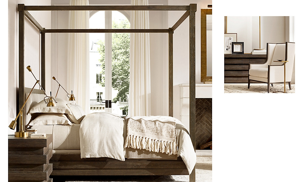 Shop Stacked Canopy Bed