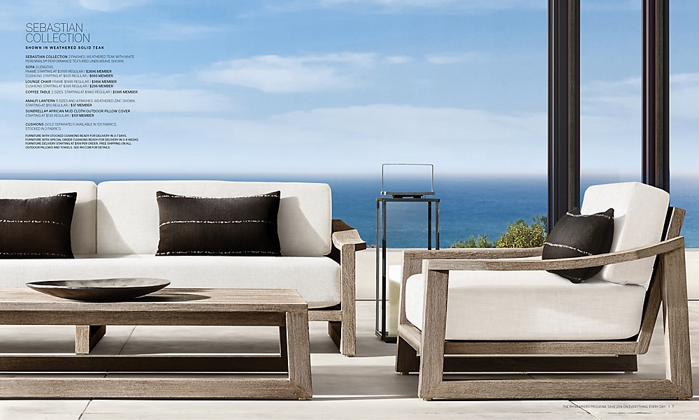 shop Sebastian Outdoor Low Seating