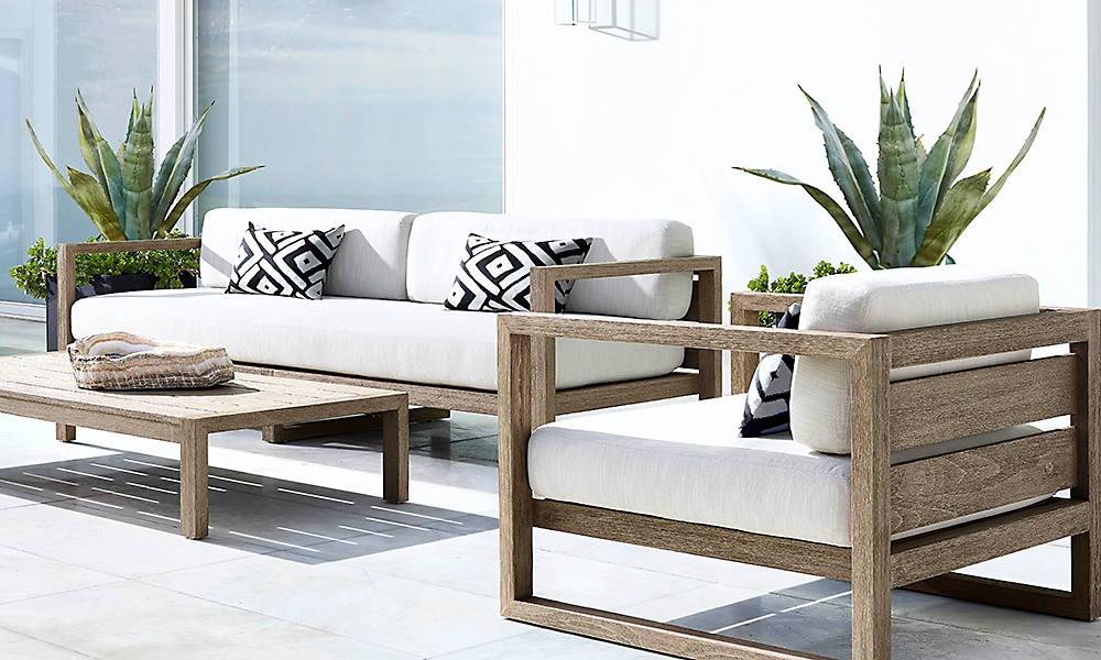 Shop Aegean Teak Sofa