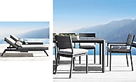 shop Palma Metal Dining & Chaise