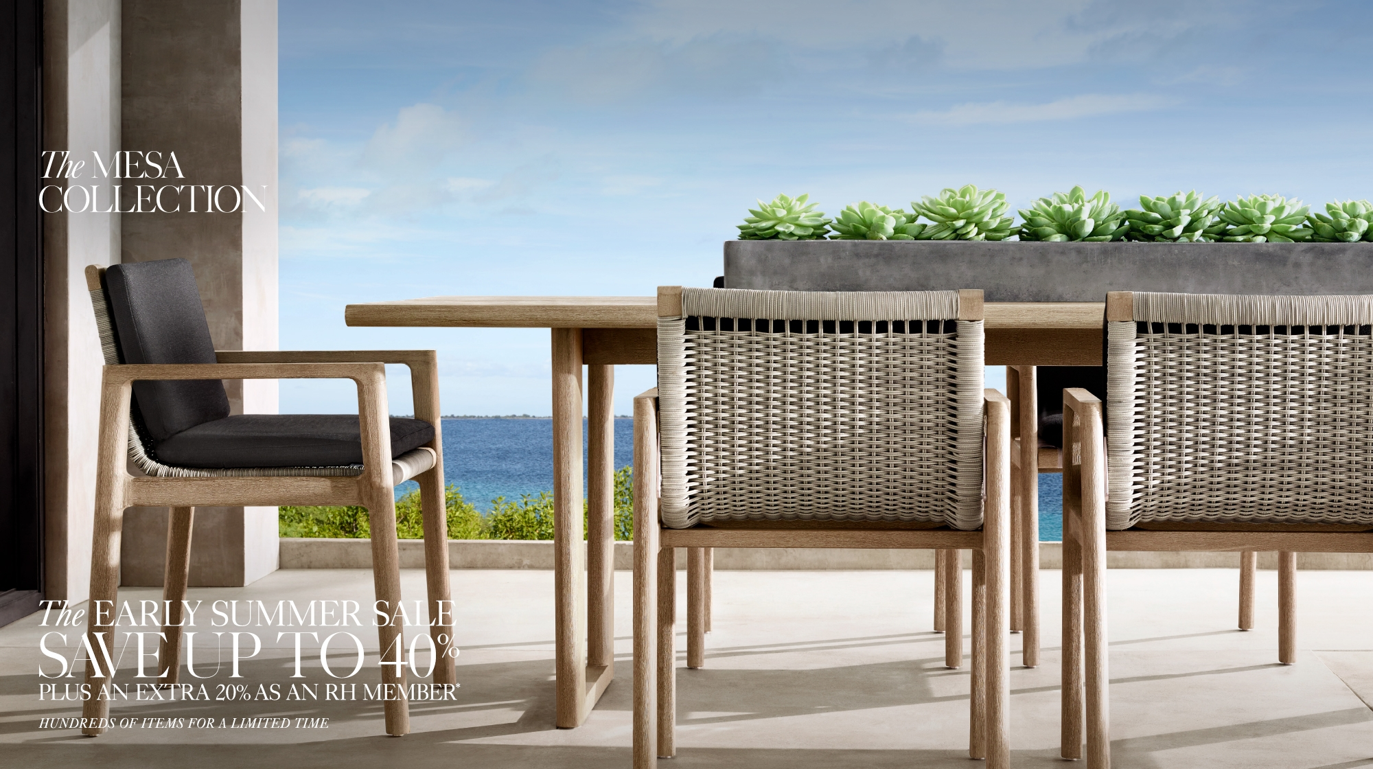 Explore RH Outdoor Collections