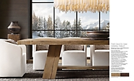 shop Davos Rectangular Dining Table - Oak