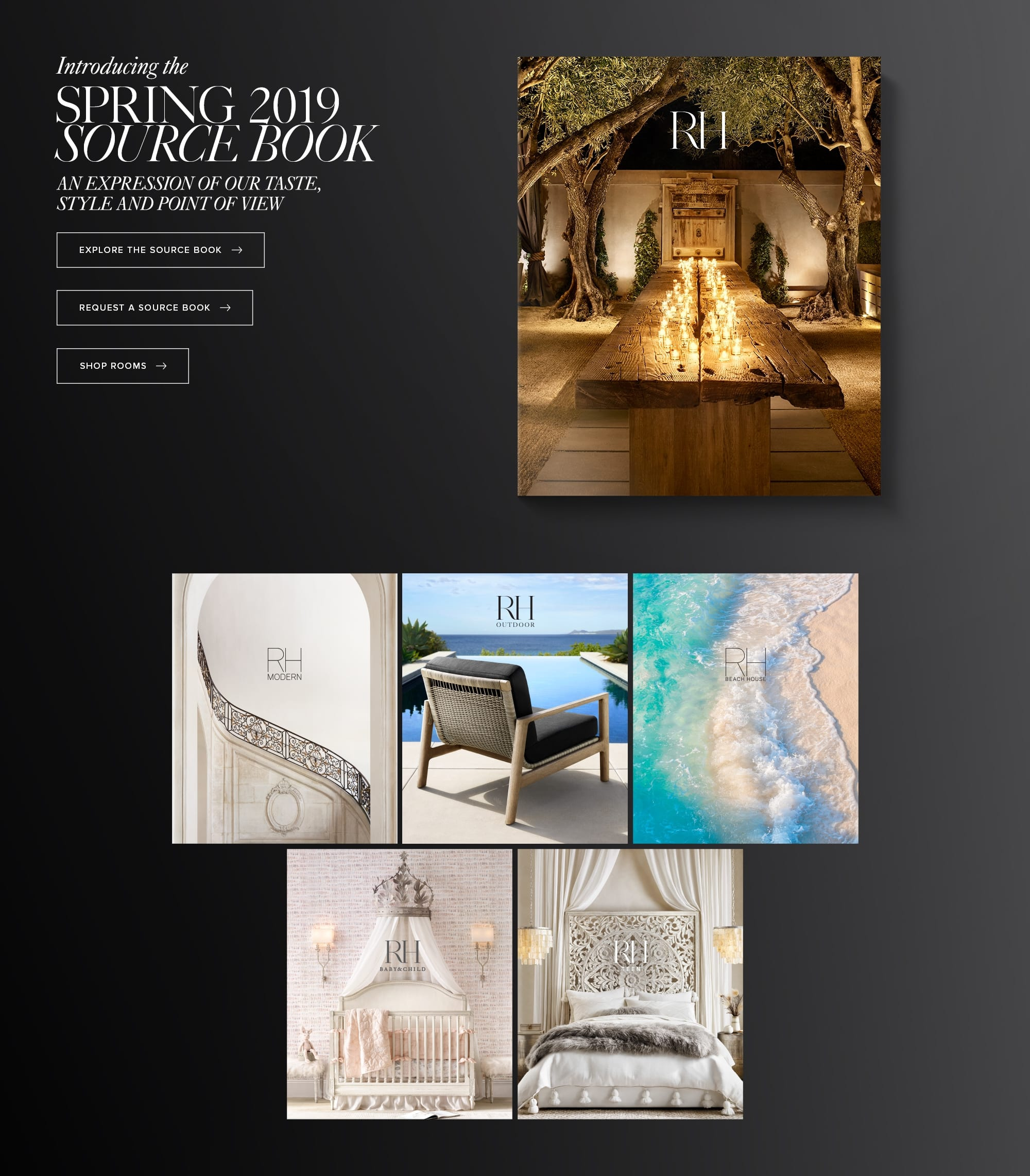 Explore our Sourcebooks. An expression of our taste, style and point of view.