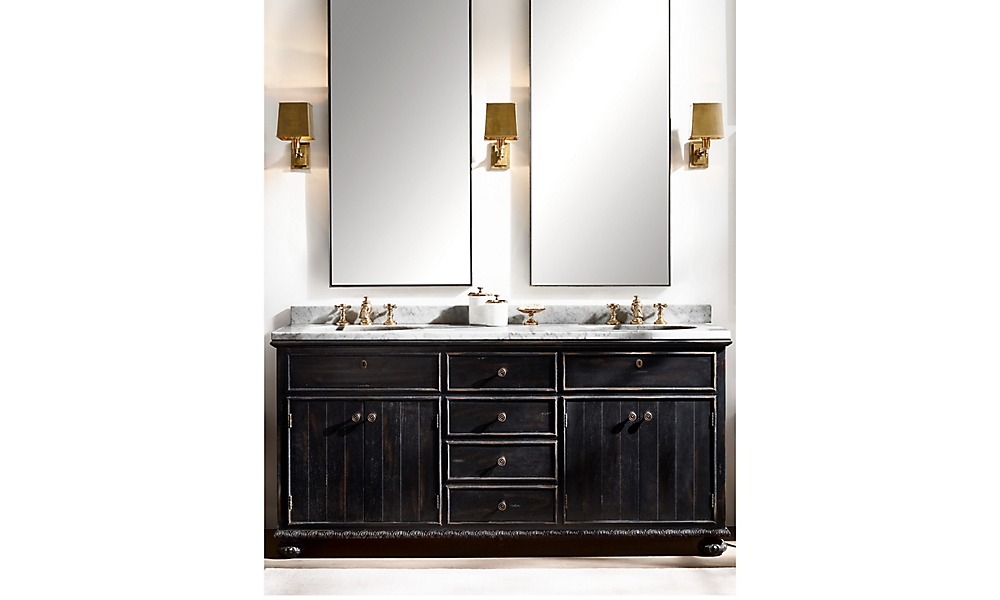 Shop French Empire Double Vanity Sink