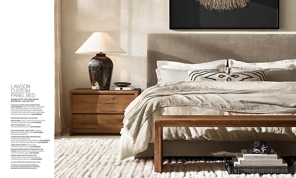 shop Modena Waterfall Guest Bedroom
