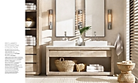shop Russian Oak Bleached Bath