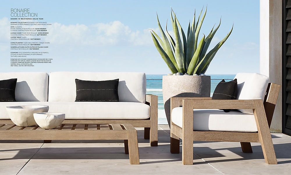 shop Bonaire Teak Low Seating