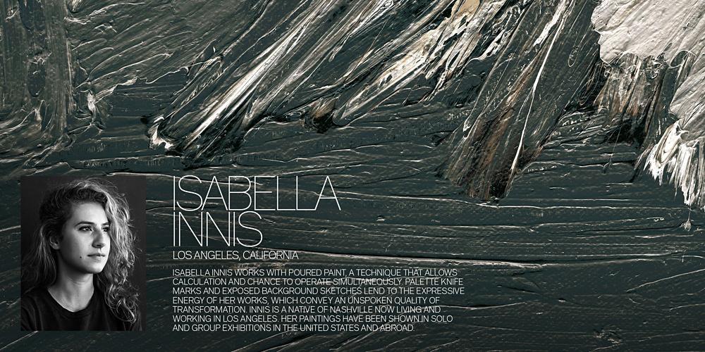 Introducing Isabella Innis