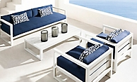 shop Aegean White Low Seating