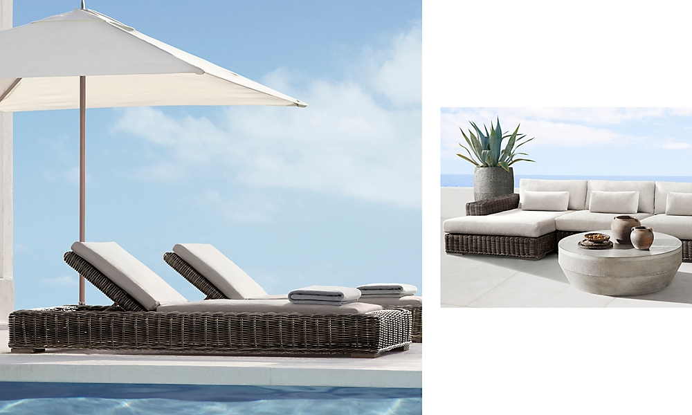 shop Majorca Terra Chaise and Sectional