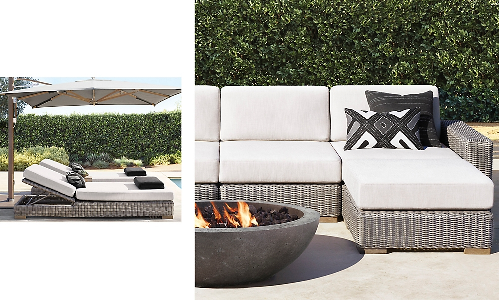 shop Biarittz Stone Sectional and Chasie