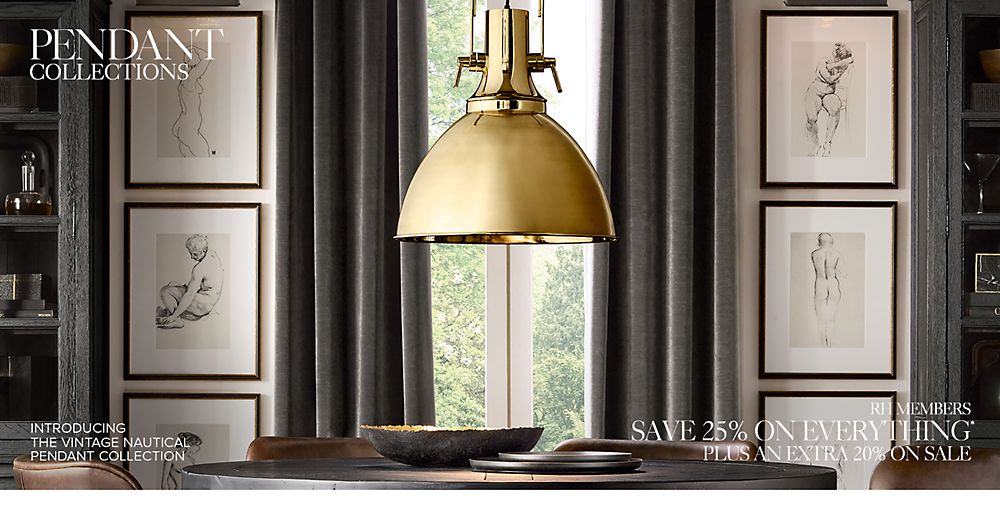 Shop Pendant Lighting Collections