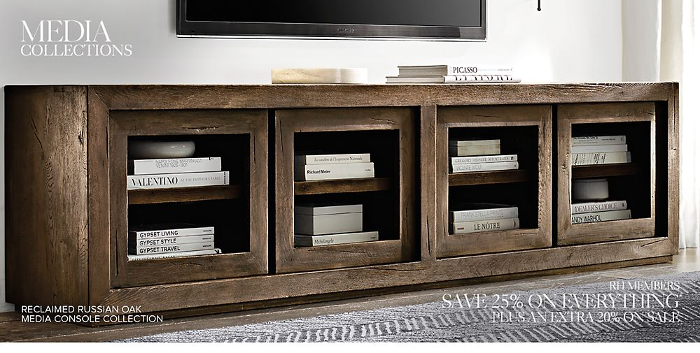 Shop Our Media Cabinet Collections