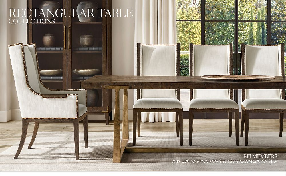 Shop Rectangular Table Collections