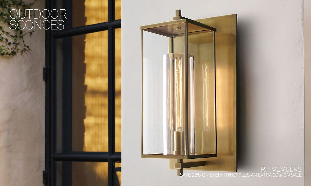 Shop Outdoor Sconce Collections