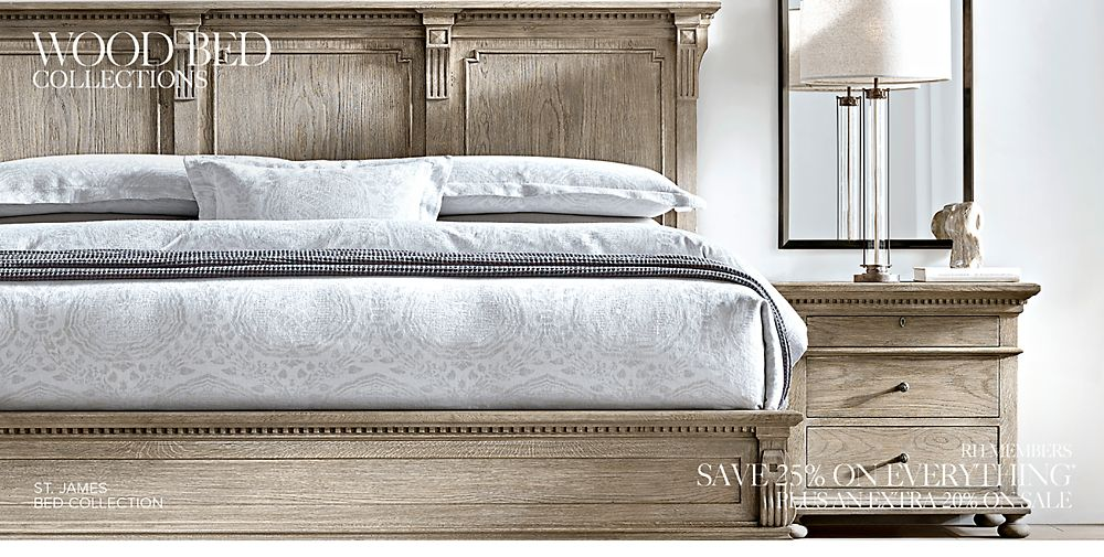 Shop Wood Bed Collections