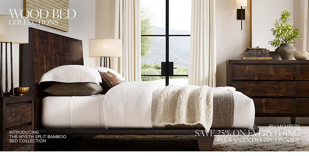 Wood Bed Collections