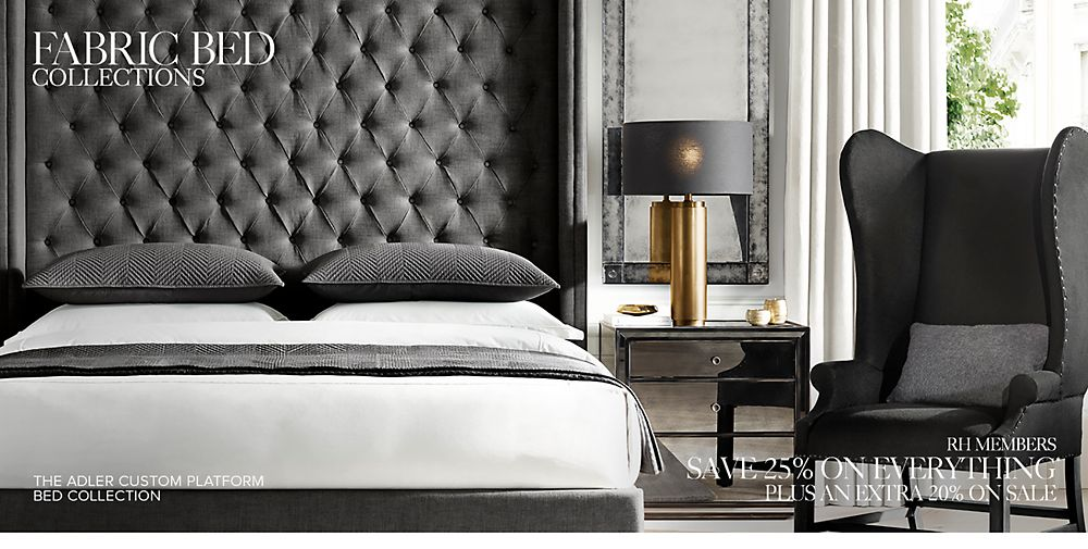 Fabric Bed Collections