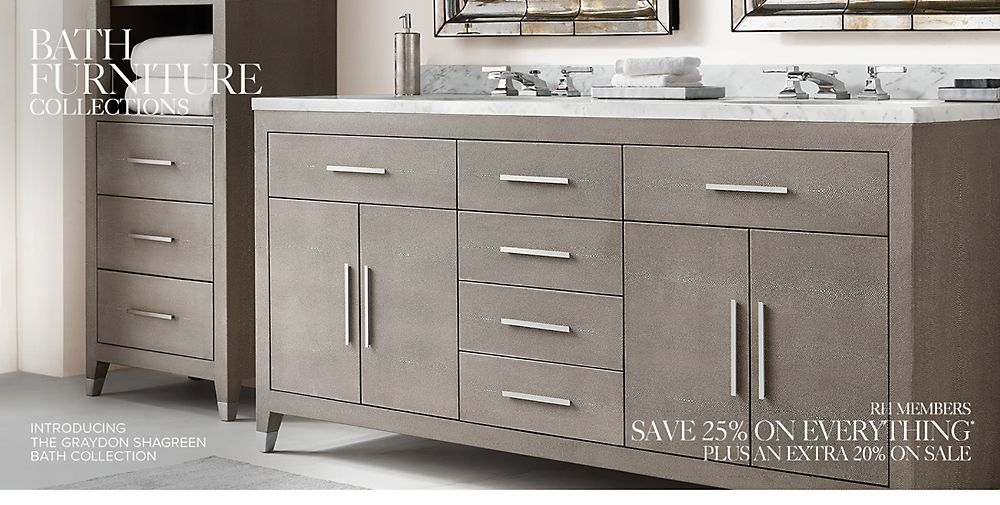 Shop bath furniture collections