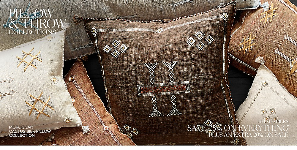 Shop Pillow and Throw Collections