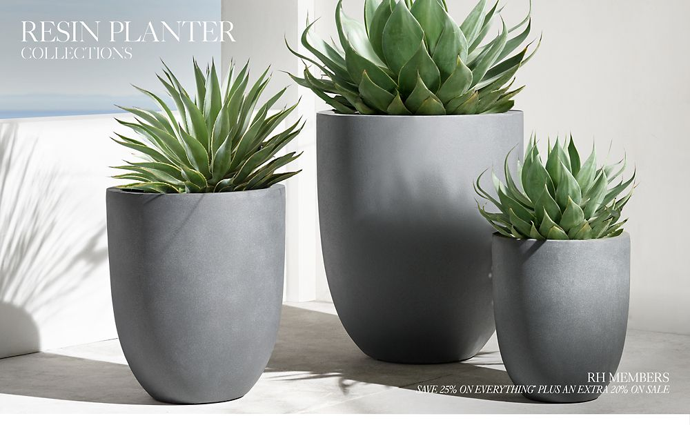 Shop  Resin Planter Collections