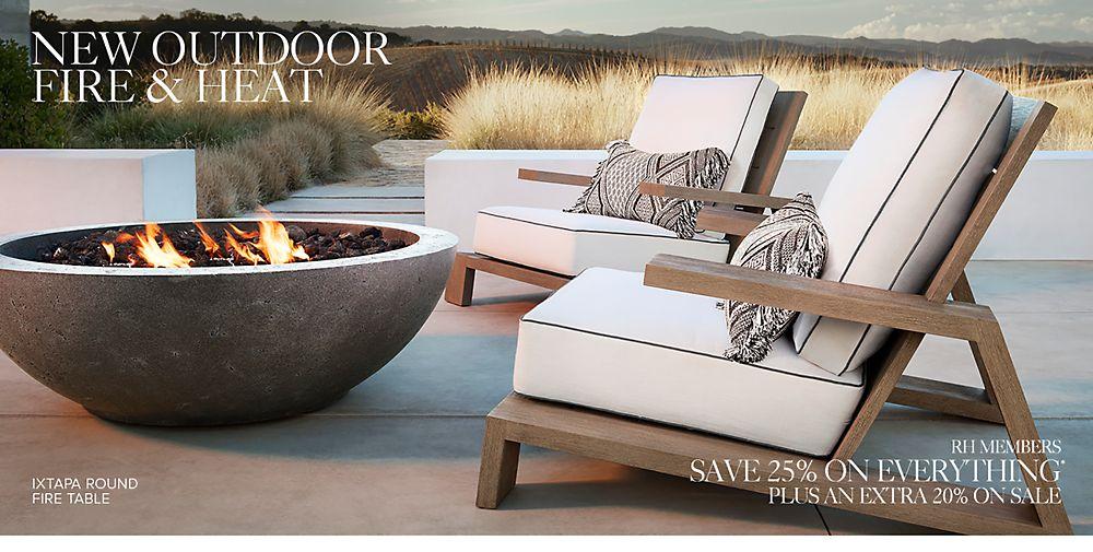 New Outdoor Fire & Heat