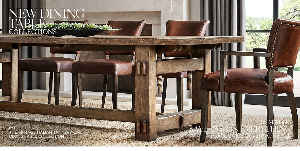 Shop New Dining Table Collections