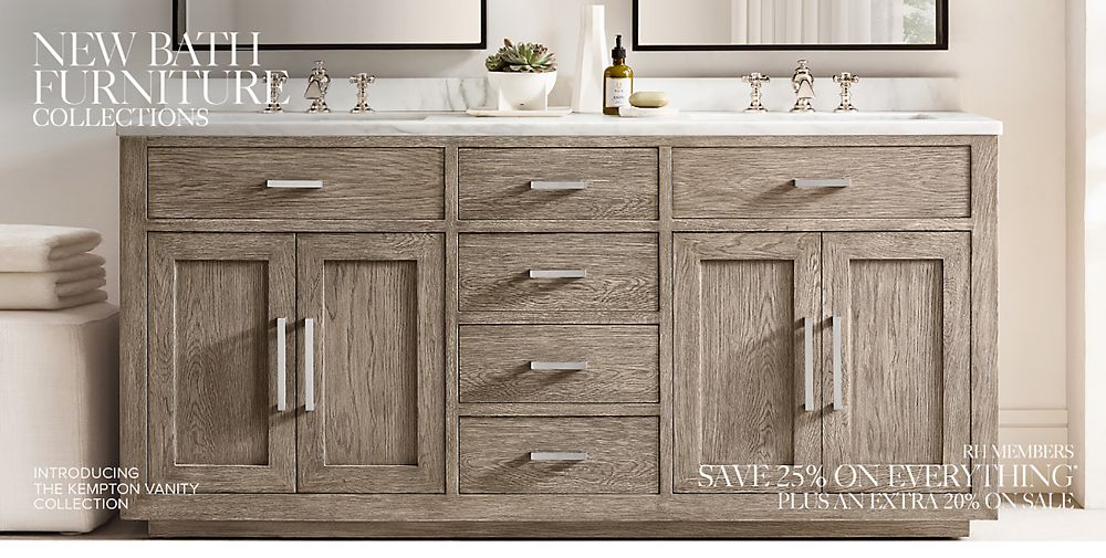 Shop New Bath Furniture Collections