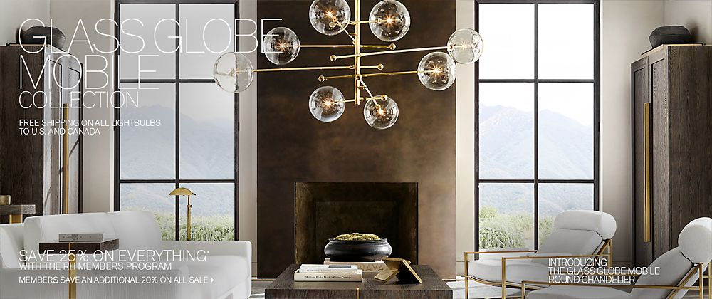 Introducing the Glass Globe Lighting Collection