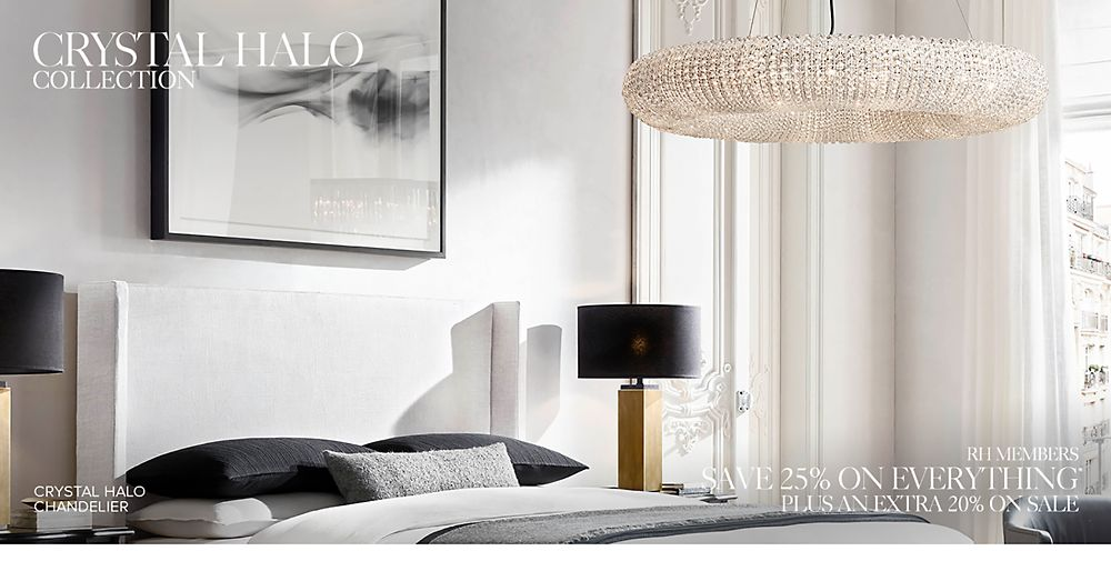 Introducing the Crystal Halo Lighting Collection