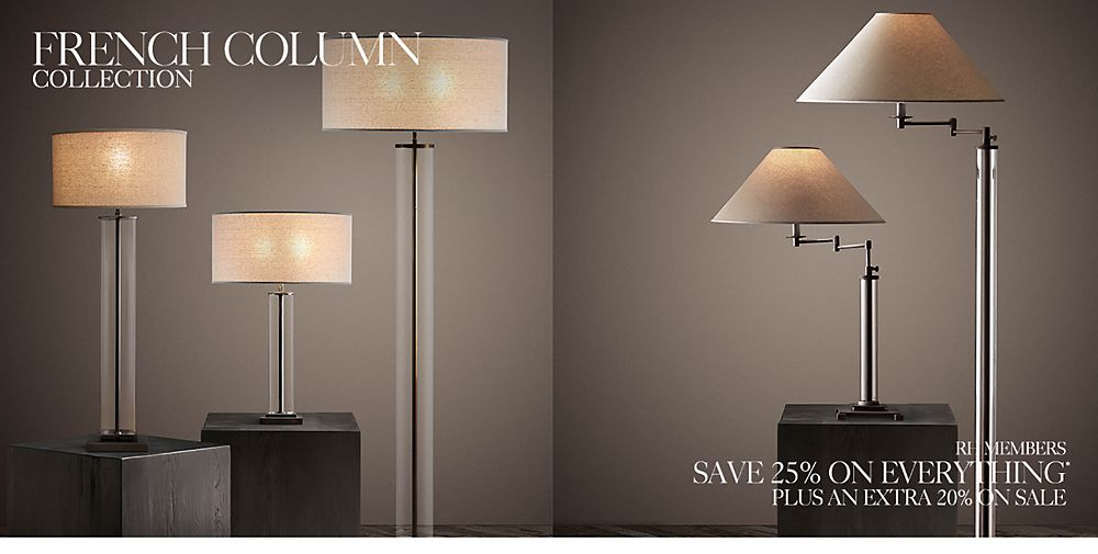 Introducing the French Column Lighting Collection