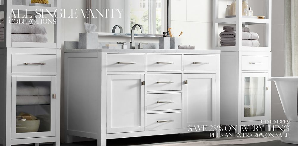 Shop Single Bath Vanity Collections