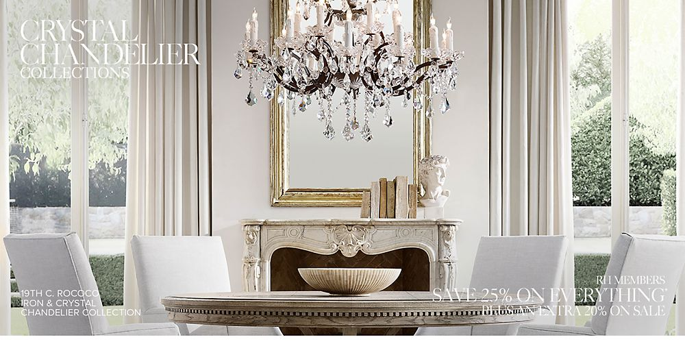 Shop Our Crystal Chandelier Collections