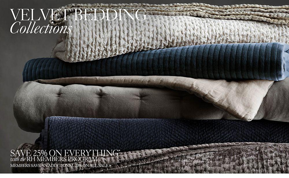 Velvet Bedding Collections