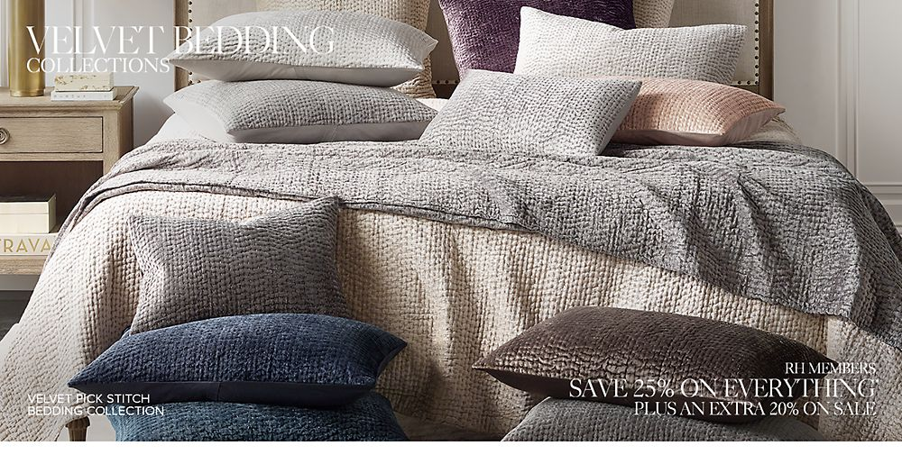 Shop Velvet Bedding Collections
