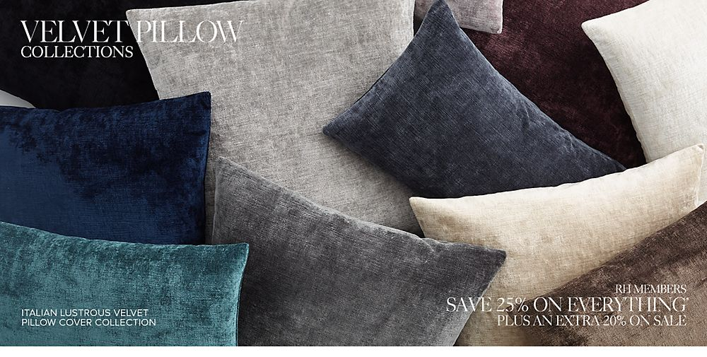 Shop Velvet Pillows