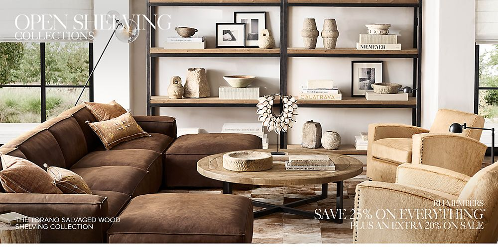 Shop open shelving collections