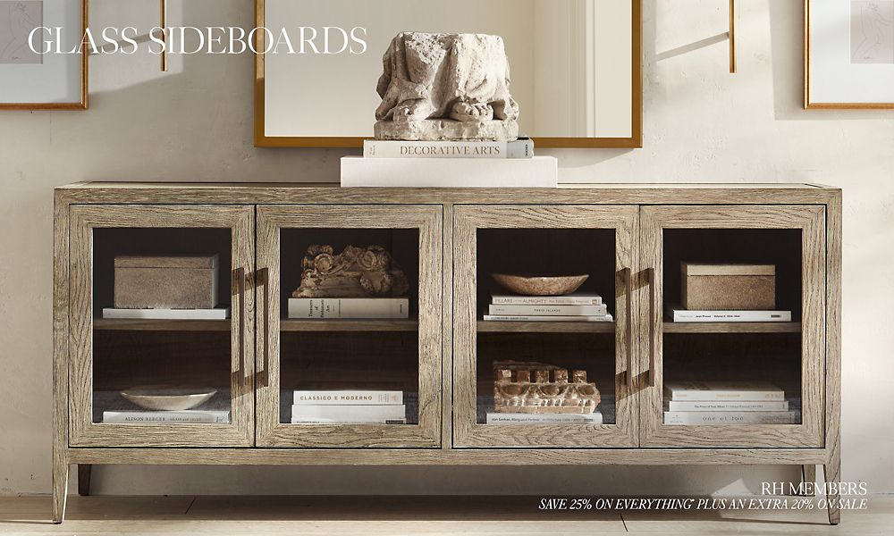 Shop Glass Sideboards