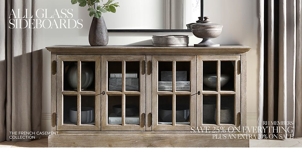 Shop All Glass Sideboard Collections
