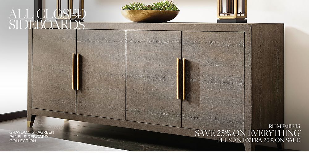 Shop All Closed Sideboard Collections