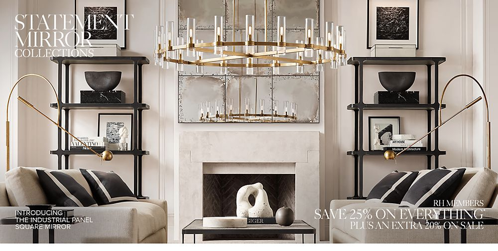 Shop Statement Mirror Collections