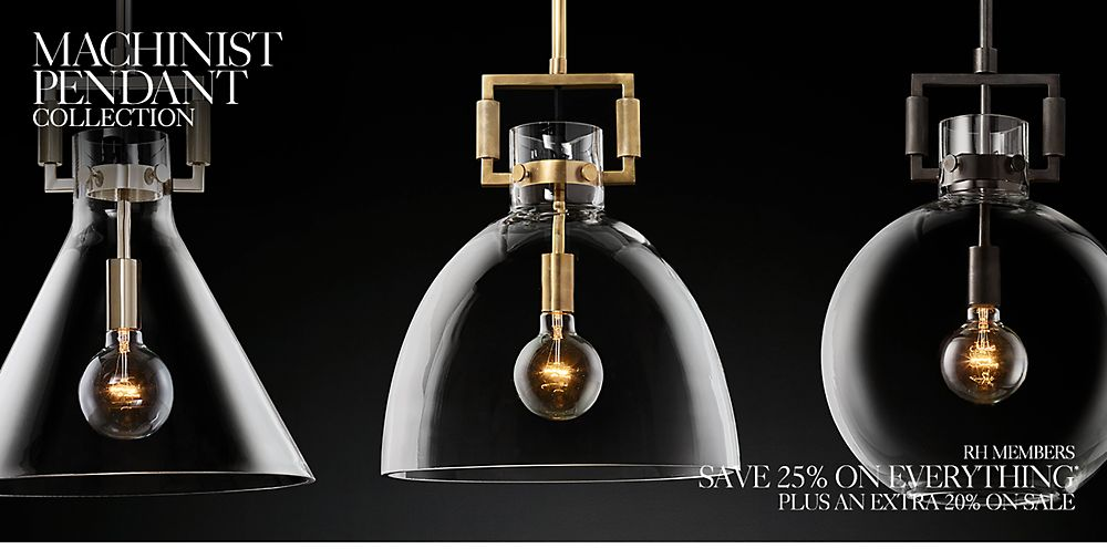 Introducing the Machinist Pendant Lighting Collection