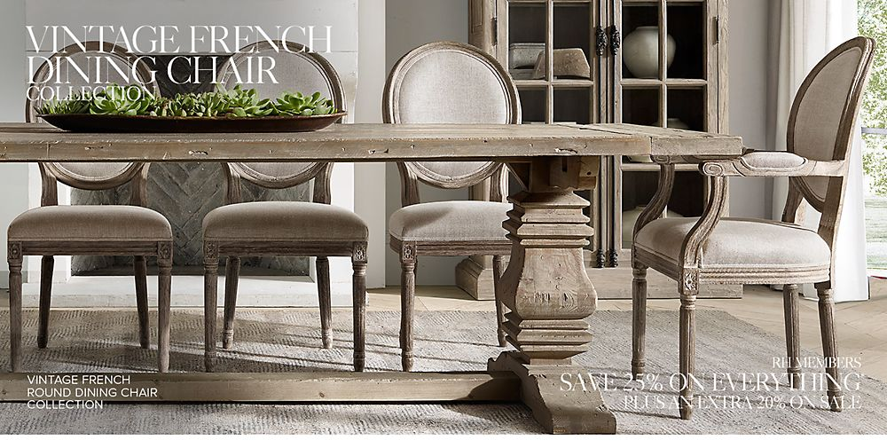 Shop Vintage French Dining Chair Collections