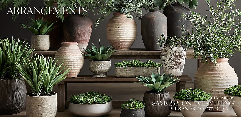 Shop Greenery Arrangements