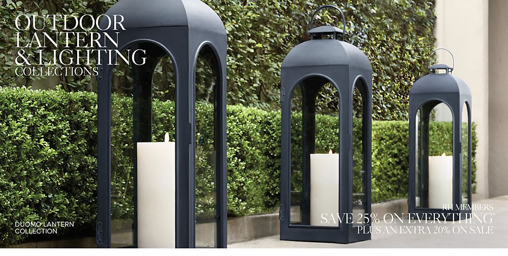 Shop Outdoor Lantern Collections