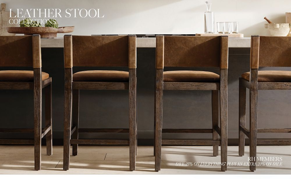 Shop Leather Stool Collections