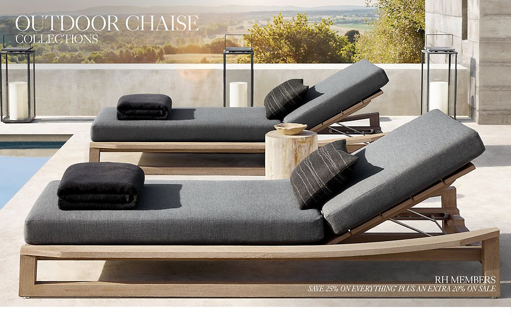 Shop Outdoor Chaise Collections
