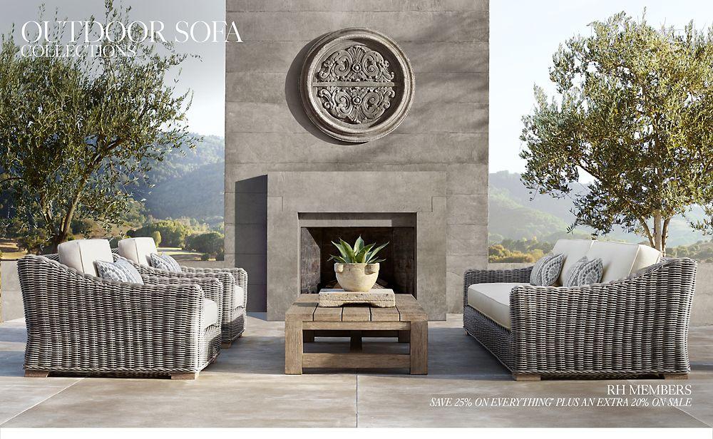 Shop Outdoor Sofa Collections